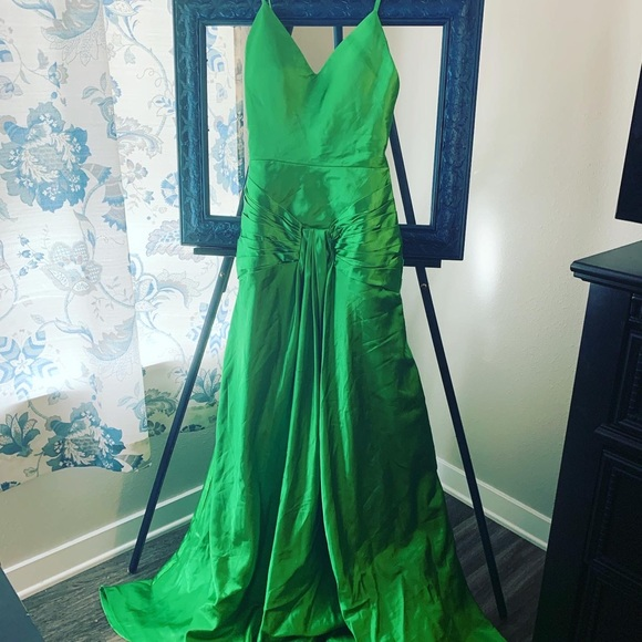 Green Satin Atonement Replica Gown